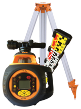 RL6 Rotary Laser Level c/w Staff and Tripod | 519026